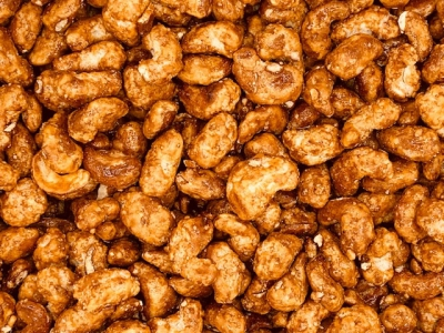 Caramel cashewnoten