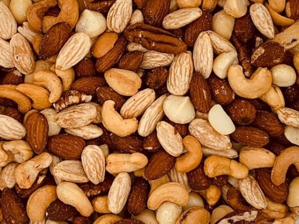 Macadamia melange, gezouten