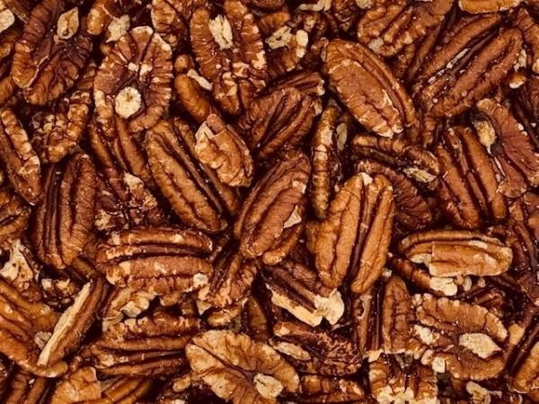 Pecannoten gebrand, gezouten