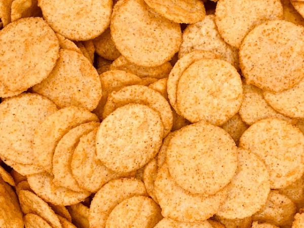 Tex mex corn crackers